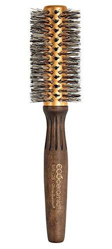 Olivia Garden EcoCeramic Soft Bristle Round Thermal Hair Brush EC-26S (2 1/8')