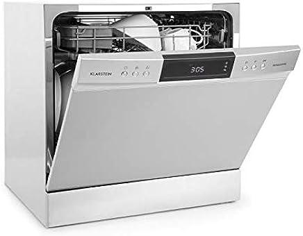 Klarstein Amazonia • Lavavajillas • Máquina lavaplatos • 8 programas: intensivo, normal, ECO