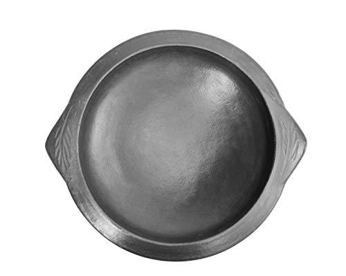 Craftsman India online Clay Frying Pan, Black