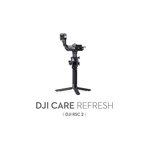 DJI RSC 2 Care Refresh (2 Jahren) - VIP Serviceplan für Ronin SC 2, bis zu 2 Ersatzprodukte innerhalb von 2 Jahren, Abdeckung von Sturz- und Wasserschäden, Aktiviert innerhalb von 30 Tagen