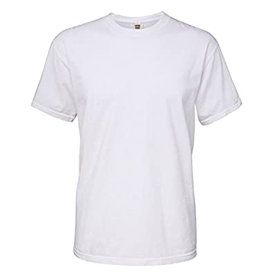 Comfort Colors Mens Heavyweight T-Shirt (XL) (White) by Comfort Colors