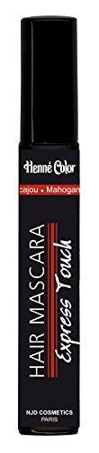 Dehna Farbe Wimperntusche für Haar Mahagoni–Satz von 3 - mahagoni