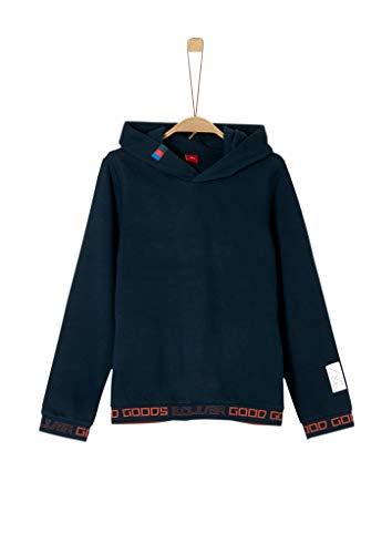 s.Oliver Jungen 61.909.41.2473 Sweatshirt, Blau (Dark Blue 5952), 164 (Herstellergröße: L/REG)
