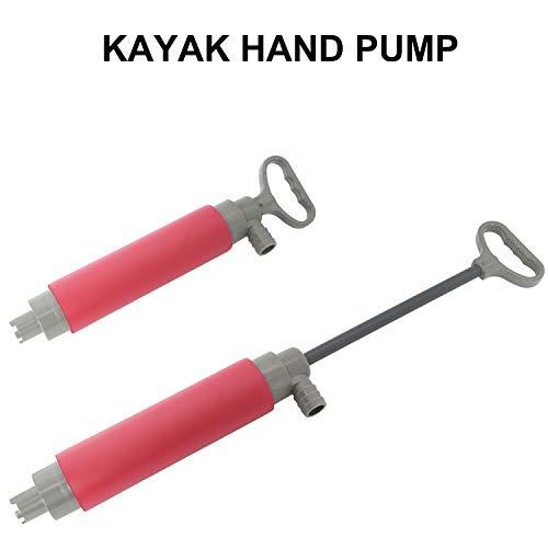 YaeGarden Kayak Bilge Pump Hand Pump Floating Manual Bilge Water Pump Kayak Canoe Accessories for Kayak Rescue
