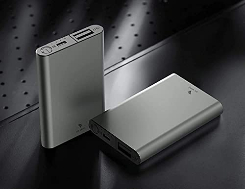 DR VAKU ® 5000mAh Ultra-Slim Power Bank Smallest Fast Charging Power Bank with LED Indicator -Grey