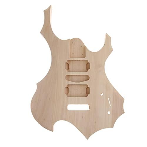 KEPOHK Material de cuerpo de guitarra sin terminar para herramientas ESP Guitar Luthier
