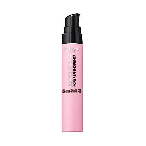 L'Oréal Paris Infaillible Pore Refining Primer, die Make-up-Grundierung verfeinert die Poren, bereitet die Haut optimal auf das Make-up vor
