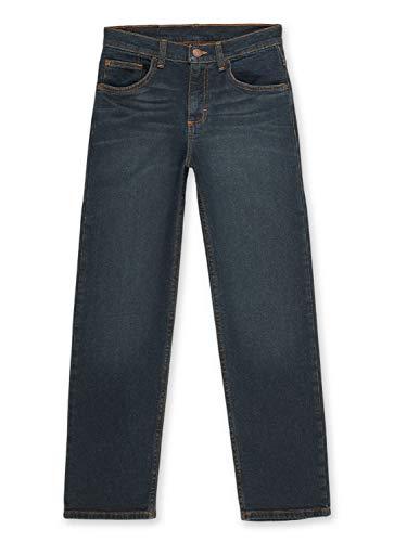 Wrangler Boys' Straight Fit Jean, Dark Night, 16
