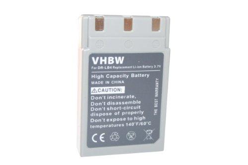 vhbw Li-Ion batería 750mAh (3.7V) para cámara réflex Digital Minolta Dimage G400, G500, G530, G600