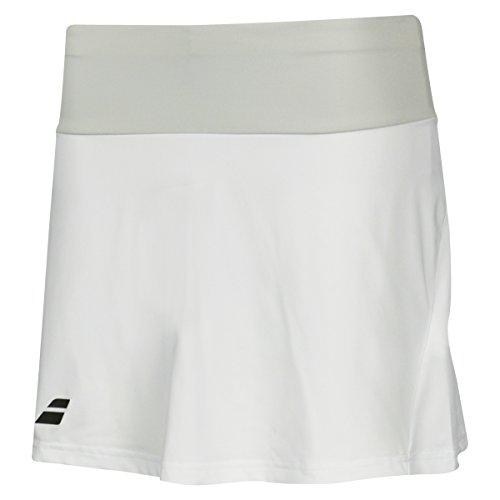 Babolat Femme Core Long Jupe Blanc Gris Clair XL