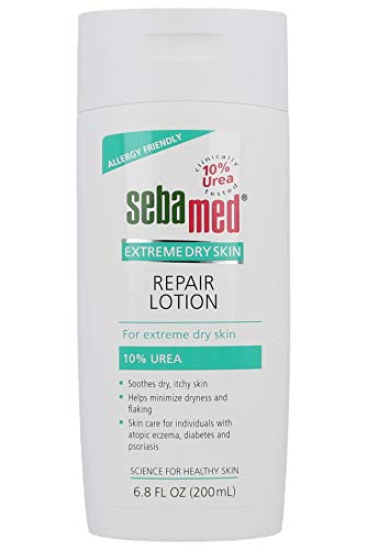 Sebamed Extreme Dry Skin Repair Advance Therapy Lotion with 10% Urea Perfect for Eczema Psoriasis Lotion Rough Dry Skin Moisturizer 6.8 Fluid Ounces