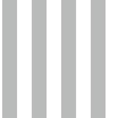 Strisce bianco e grigio carta da parati in tnt righe design moderno 5661 Friends & Coffee