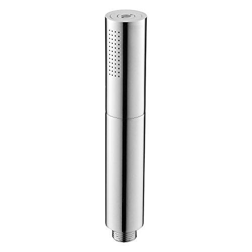 ONLT Handbrause 2 Funktionen Hochdruckschalter mit Handbrause, Handbrause Wassersparend Duschkopf, Massagedusche und Pulskanone, abnehmbarer waschbarer Duschkopf, einfach zu montieren, Messing