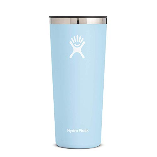 Hydro Flask Tumbler Cup - Stainless Steel & Vacuum Insulated - Press-In Lid...