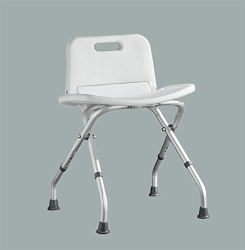QX IAIZI Silla de baño de Aluminio Silla de baño for Hombr