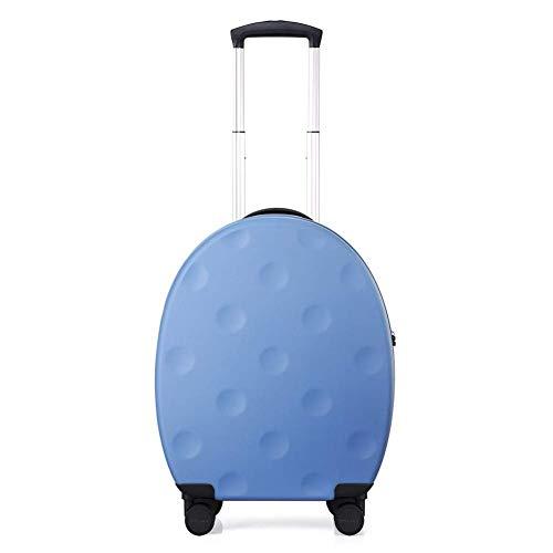 Equipaje de Mano, Cajas de Vara, Ultra-Light ABS Travel Case Maleta con TSA Lock y 4 Ruedas Universal for el embarque (Negro, Rojo, Azul) (Color : B, Size : 46.3 * 21.6 * 57.3CM)