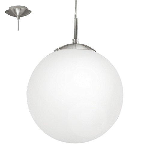Luxus Pendel Leuchte Wohnraum Hänge Lampe Glas Kugel Flur Beleuchtung Decken Strahler Eglo 85261