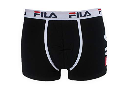 Fila Fu5040 Bóxer Blanco - Calzoncillos de bóxer Negro S