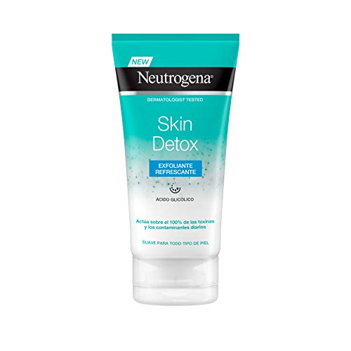 Neutrogena Detox Gel Exfoliante Y Refrescante - 150 ml.
