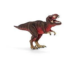11. Schleich Dinosaurs Red T-Rex Educational Figurine