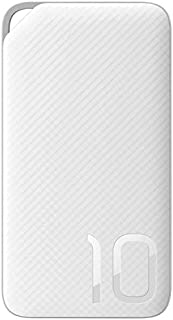 Huawei Honor mobile Power Bank 10000,AP08L, compact portable Fast charger, high-speed charging technology mobile power for iPhone, Samsung Galaxy, etc- White