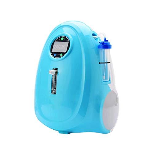 FeiGuo Generador de oxígeno del coche, 12v meseta exterior portátil pequeña de oxígeno médico for el hogar amortiguador de ruido de baja batería de litio externa máquina de bar de oxígeno