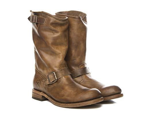 Sendra Boots, Biker 2944 Lighting, Motorradstiefel, Braun - Camel - Größe: 43 EU