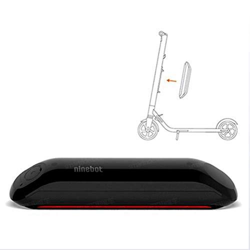 TOOSD Elektroroller, Erwachsenenroller ES1 ES2 Ninebot No. 9, tragbares Zweirad-Klappsystem, Geschwindigkeit bis zu 25 km/h, Batterie 187WH, Digitale LED-Anzeige, Last 100 kg, Skateboard,Battery