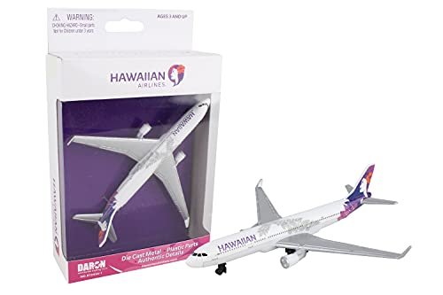 Daron Hawaiian Airlines Single Plane