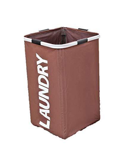 Yajun WäSchekorb Faltbare Laundry Baskets Multifunktion Schmutziger WäSchesammler Hohe Kapazität Einfache Kreative Haushaltsprodukte,Brown
