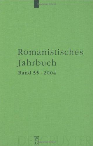 Romanistisches Jahrbuch / 2004