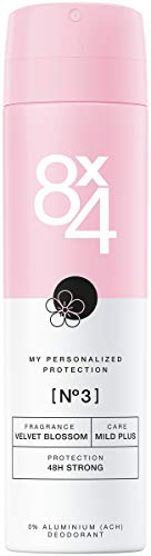 8 x 4 Deodorante spray N° 3 Velvet Blossom (150...