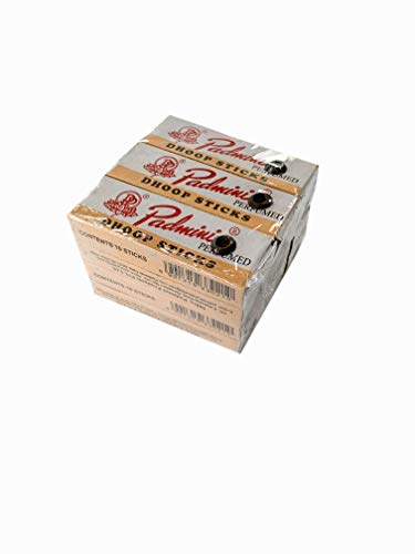 Padmini DHOOP Sticks Small Size Boxes 10 Dhoops Per Box (12 Pack Total 120 Sticks)
