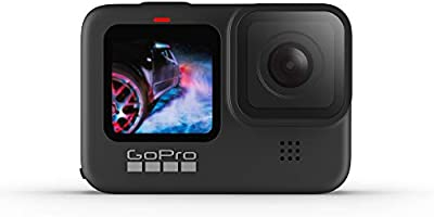 GoPro HERO9 Black - Waterproof Action Camera with Front LCD and Touch Rear Screens, 5K Ultra HD Video, 20MP Photos,...