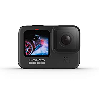 GoPro HERO9 Black - Waterproof Action Camera with Front LCD and Touch Rear Screens 5K Ultra HD Video 20MP Photos 1080p Live Streaming Webcam Stabilization