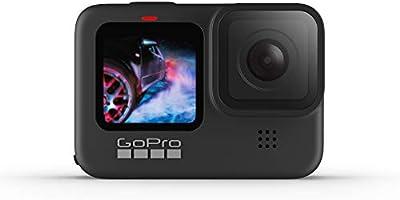 GoPro HERO 9 Black Waterdichte Actiecamera, (met LCD-scherm en Touchscreen, 5K Ultra HD-video, 20 MP-Foto's, 1080P...