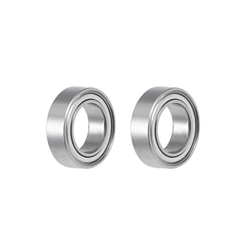 uxcell SMR106ZZ Stainless Steel Ball Bearing 6x10x3mm Shielded MR106ZZ Bearings 2pcs