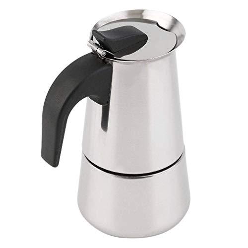 Cafetera de acero inoxidable para 6 tazas