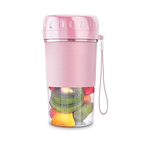 A/A Licuadora portátil para hacer smoothies, mini batidos, licuadora portátil para deportes, hogar, viajes, aire libre, zumo, leche