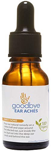 Goodbye Earaches Essential Oil Blend | 100% All Natural Ear Ache Remedy | Safe for All Ages,...