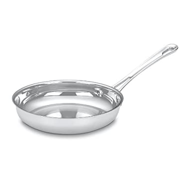 Cuisinart 422-20 Contour Stainless 8-Inch Open Skillet