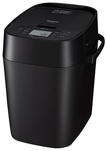 パナソニック ホームベーカリー ビストロ 1斤タイプ 43メニュー おうち乃が美対応モデル レシピブック付き ブラック SD-MDX4-K