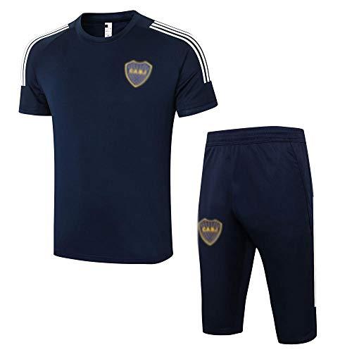 Maglietta New Men's Football Uniform Regalo a Maniche Corte Polo a Maniche Corte da Calcio Formazione Uniforme Fan Uniforme Pantaloncini da Calcio sportswear-flash-7-XX-Large.1922