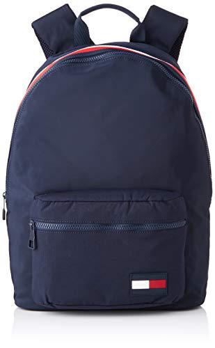 Tommy Hilfiger - Sport Mix Backpack, Mochilas Hombre, Azul (Tommy Navy), 15x43x31 cm (B x H T)