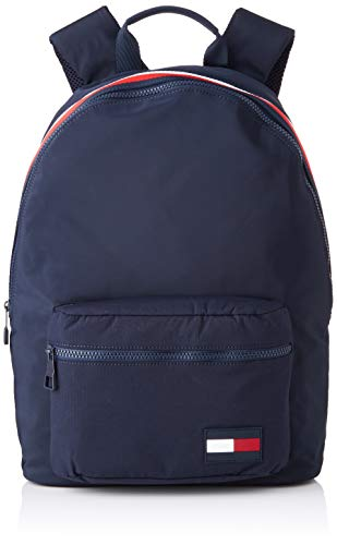 Tommy Hilfiger Herren Sport Mix Backpack Rucksack, Blau (Tommy Navy), 15x43x31 cm