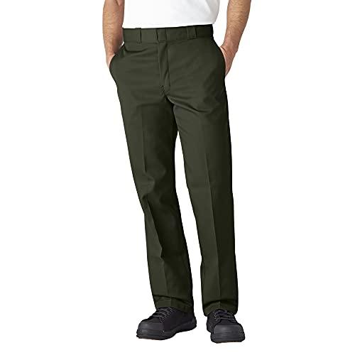 Dickies Men's Original 874 Work Pant, Olive Green, 36W x 30L