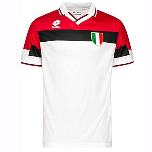 Lotto 1994-1995 AC Milan Away Football Soccer T-Shirt Jersey