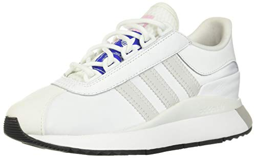 adidas Originals Women's SL Andridge Sneaker, White/Grey/Black, Numeric_10