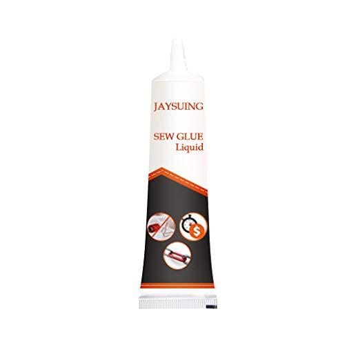 FiedFikt Creatief Naaien Cream Kleding Reparatie Lijm Snel Gemakkelijk Veilig Naaien Alternatieve Elimineren Naald & Draad, Geschikt voor Alle Stoffen en Naaibehoeften, Niet-giftig