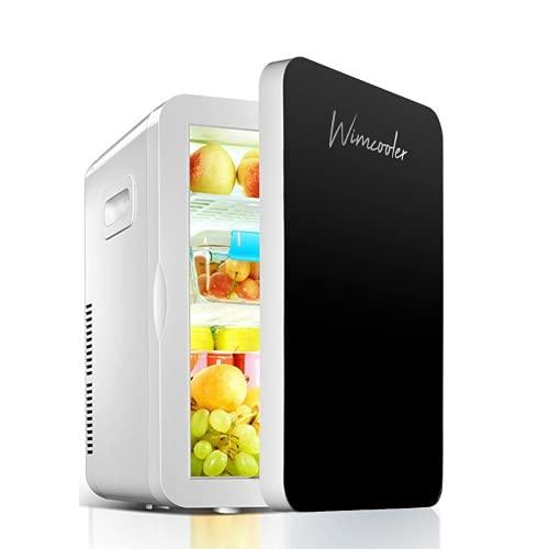 Mini Frigobar Termoeléctrico Enfriador Ideal para Alimentos Frescos, Mejor Conservados Calidad PREMIUM (Black)